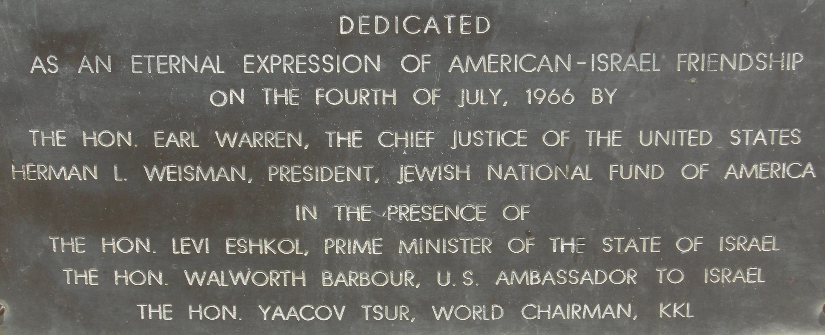 Yad_Kennedy_Plaque