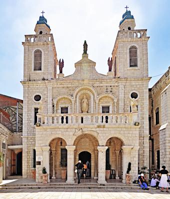 Kánai esküvő templom