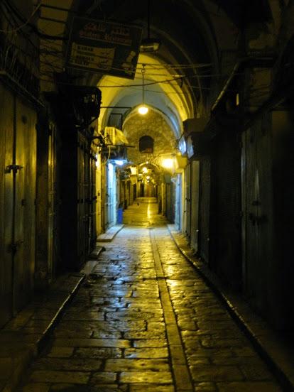 Arab bazár éjszaka